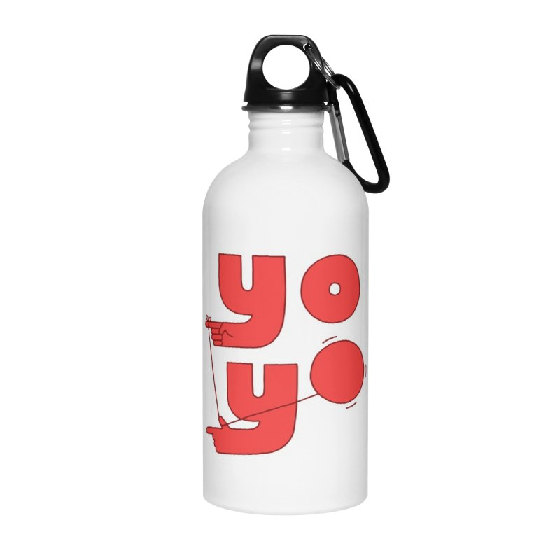 Yo Accessories Water Bottle by jacohaasbroek's Artist Shop