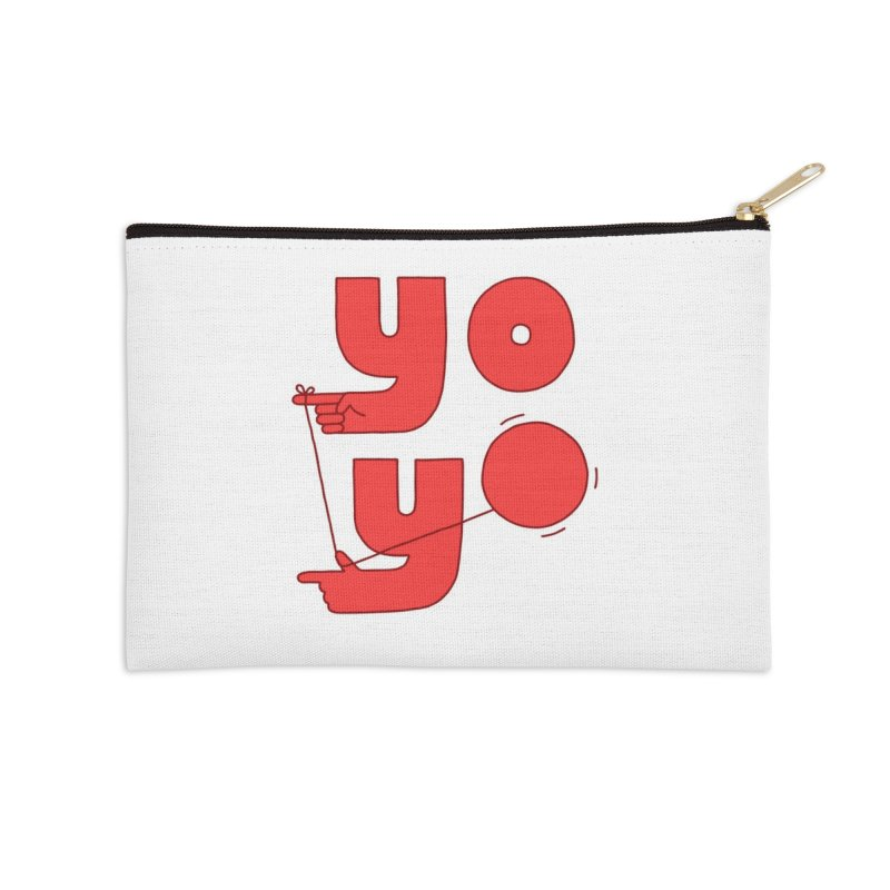 Yo Accessories Zip Pouch by jacohaasbroek's Artist Shop