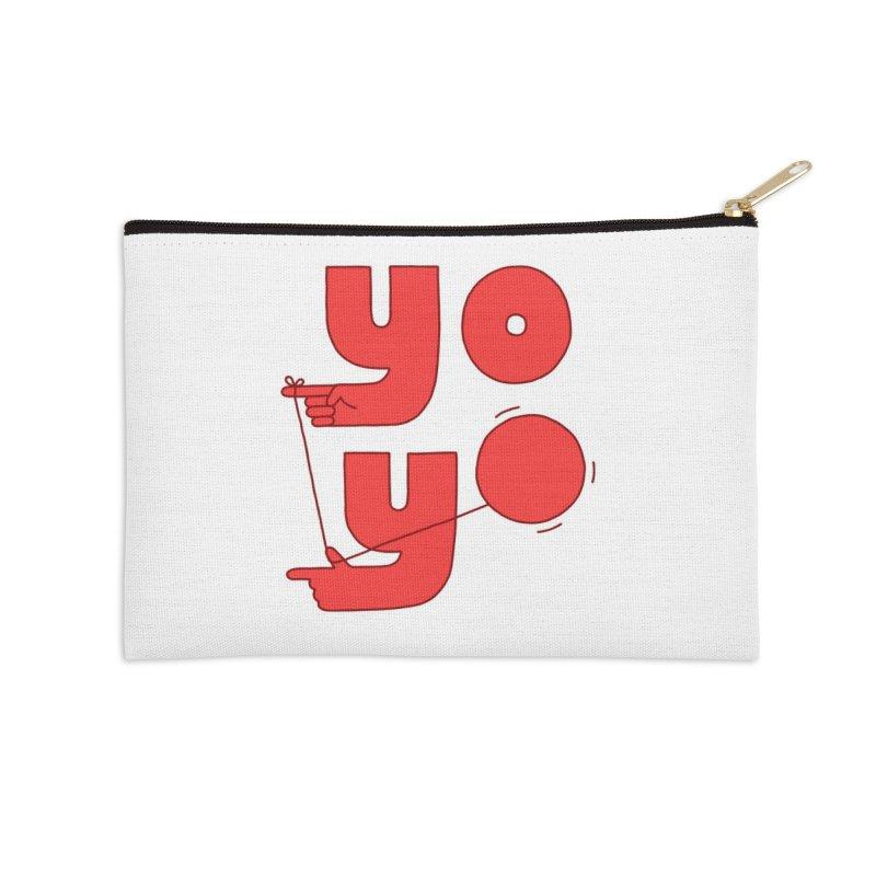 Yo Accessories Zip Pouch by Haasbroek's Artist Shop