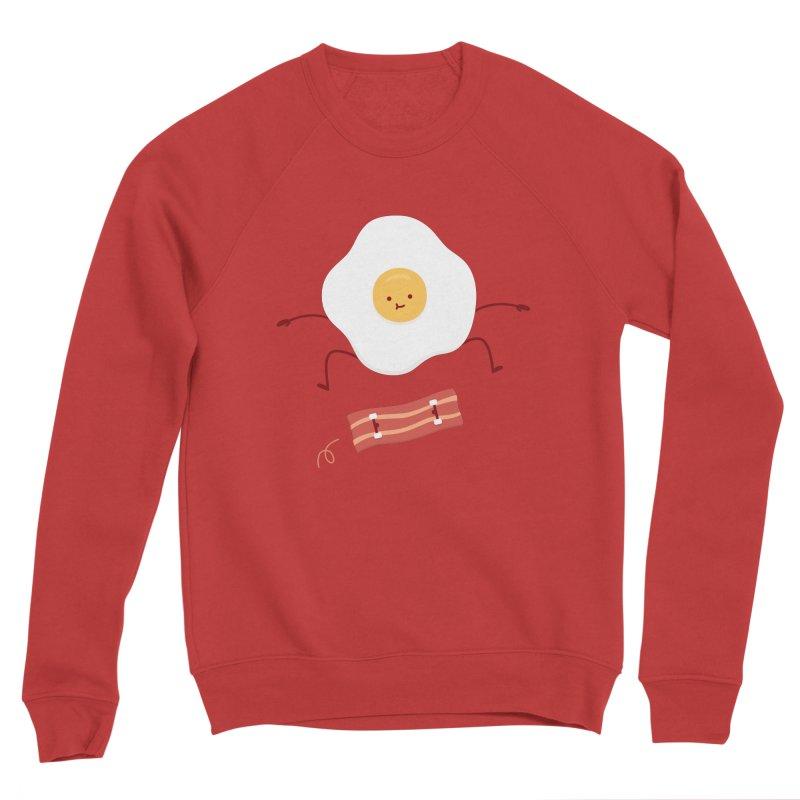 Easy Over Men's Sponge Fleece Sweatshirt by Haasbroek's Artist Shop