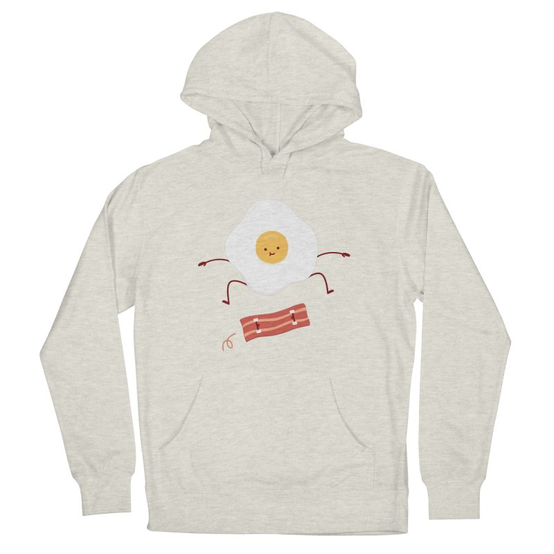 Easy Over Women's French Terry Pullover Hoody by Haasbroek's Artist Shop