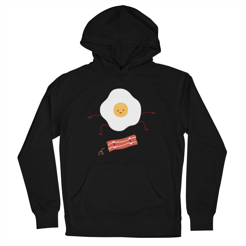 Easy Over Men's French Terry Pullover Hoody by Haasbroek's Artist Shop