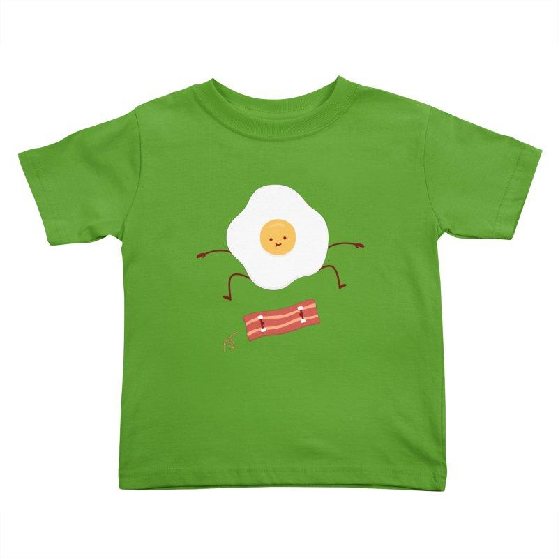 Easy Over Kids Toddler T-Shirt by Haasbroek's Artist Shop