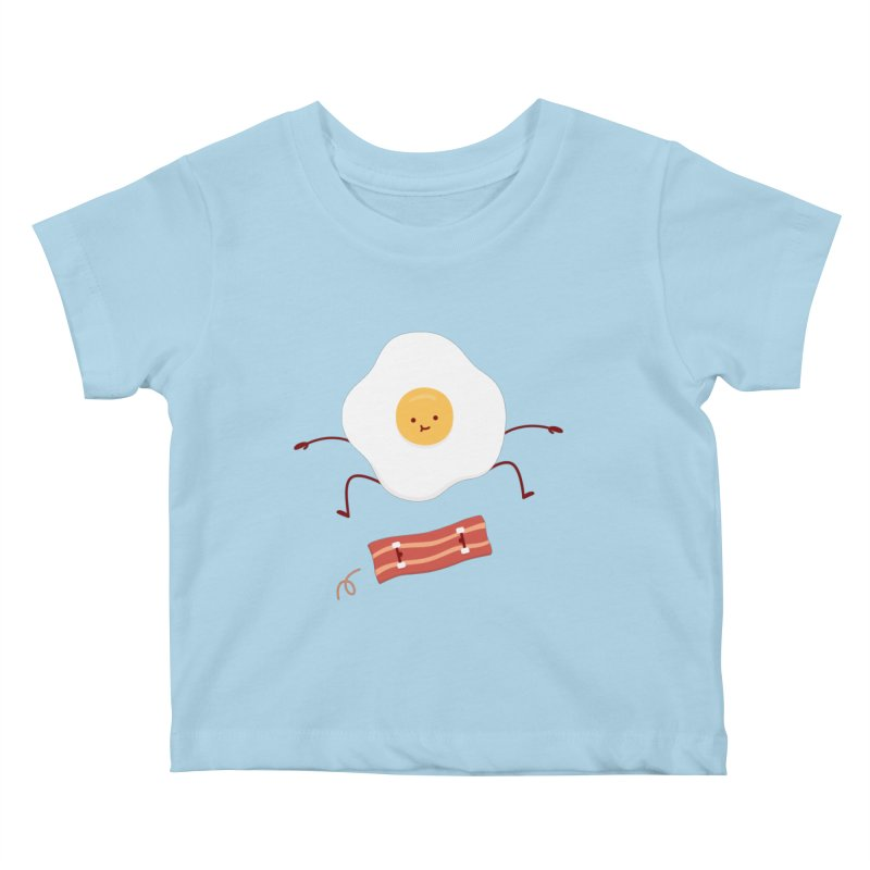 Easy Over Kids Baby T-Shirt by Haasbroek's Artist Shop