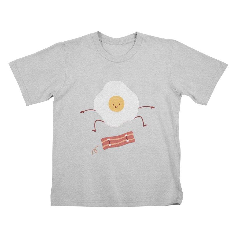 Easy Over Kids T-Shirt by Haasbroek's Artist Shop