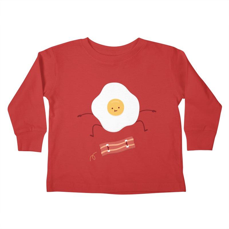 Easy Over Kids Toddler Longsleeve T-Shirt by Haasbroek's Artist Shop