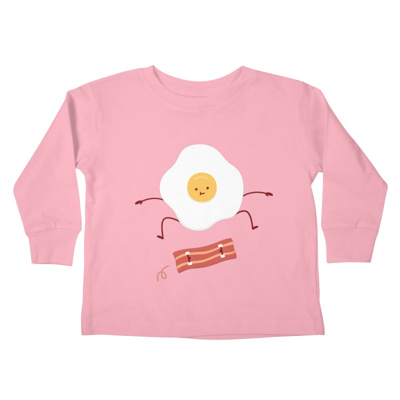Easy Over Kids Toddler Longsleeve T-Shirt by jacohaasbroek's Artist Shop
