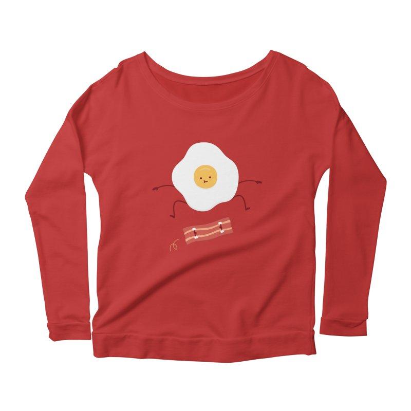 Easy Over Women's Scoop Neck Longsleeve T-Shirt by jacohaasbroek's Artist Shop