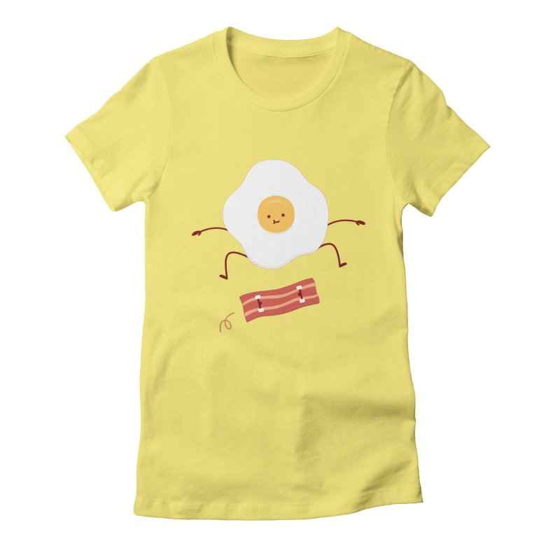 Easy Over Women's Fitted T-Shirt by Haasbroek's Artist Shop