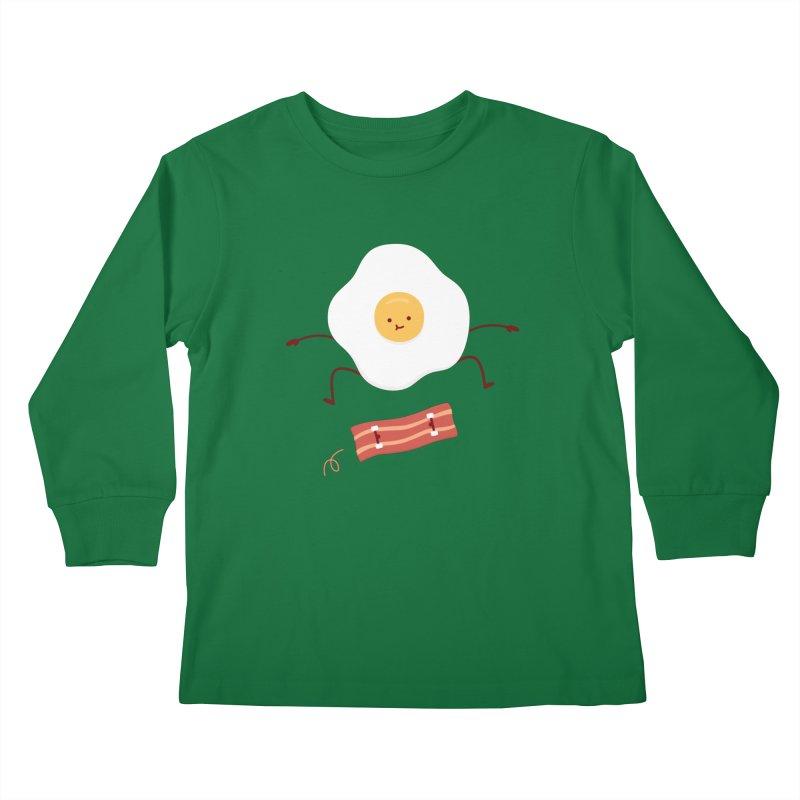 Easy Over Kids Longsleeve T-Shirt by Haasbroek's Artist Shop