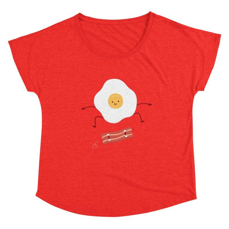 Easy Over Women's Scoop Neck by Haasbroek's Artist Shop