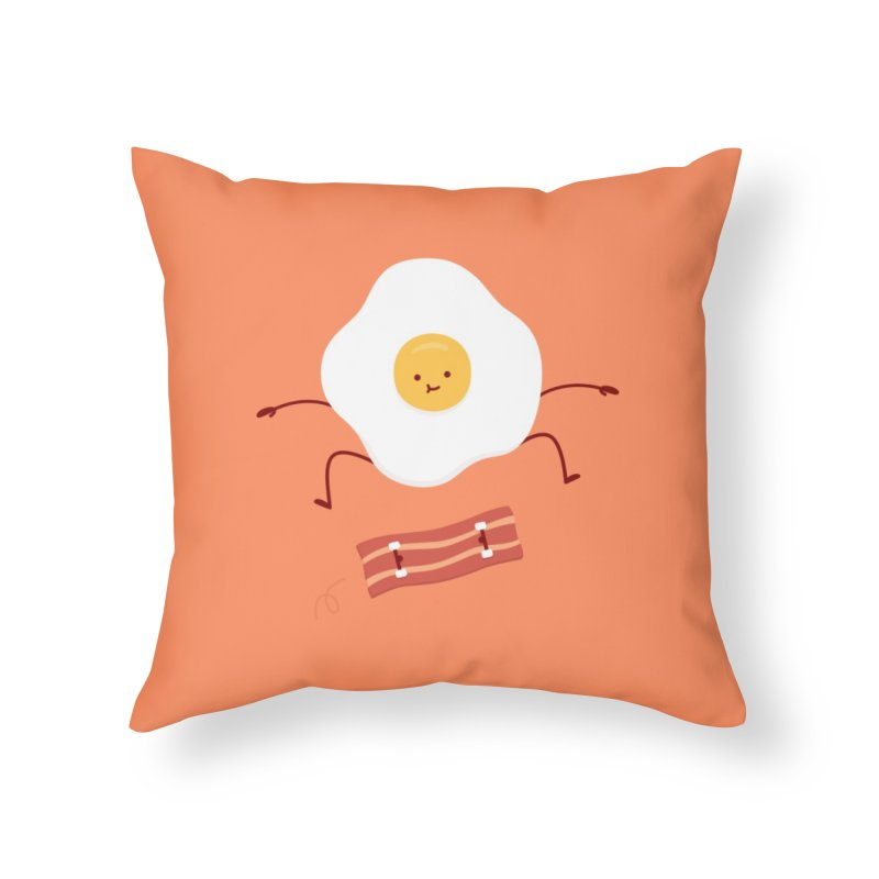Easy Over Home Throw Pillow by Haasbroek's Artist Shop