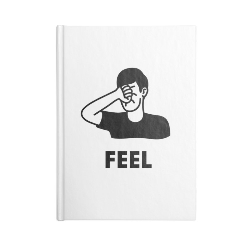Punch Yourself Accessories Notebook by Haasbroek's Artist Shop