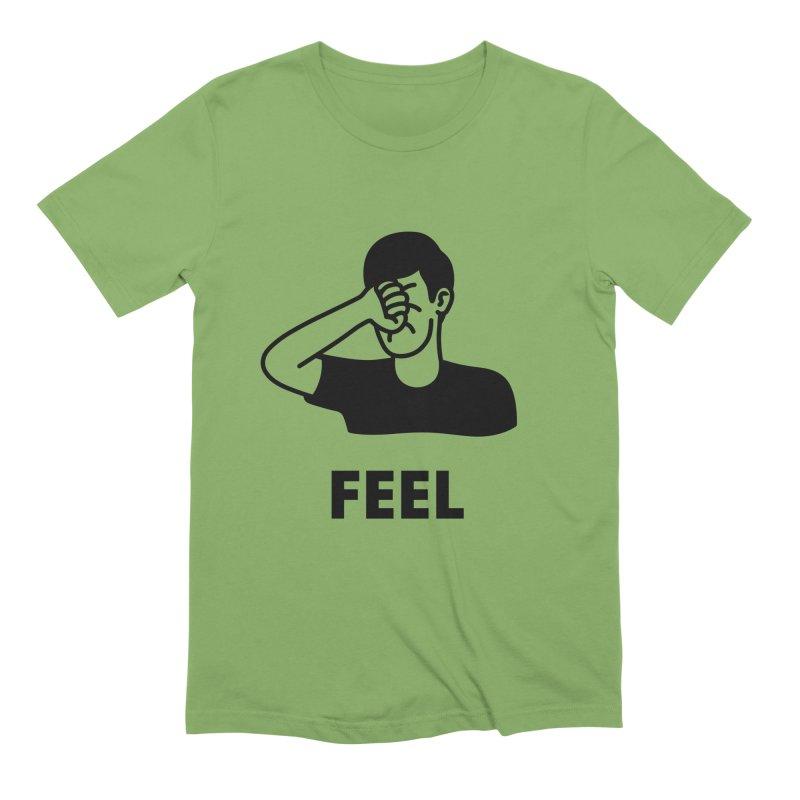 Punch Yourself Men's Extra Soft T-Shirt by Haasbroek's Artist Shop