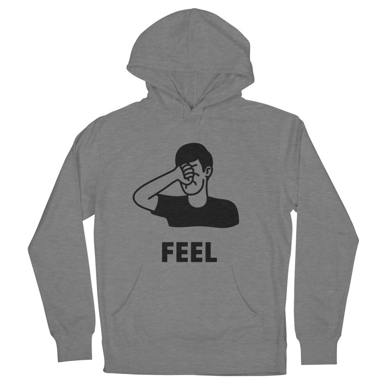 Punch Yourself Women's French Terry Pullover Hoody by Haasbroek's Artist Shop