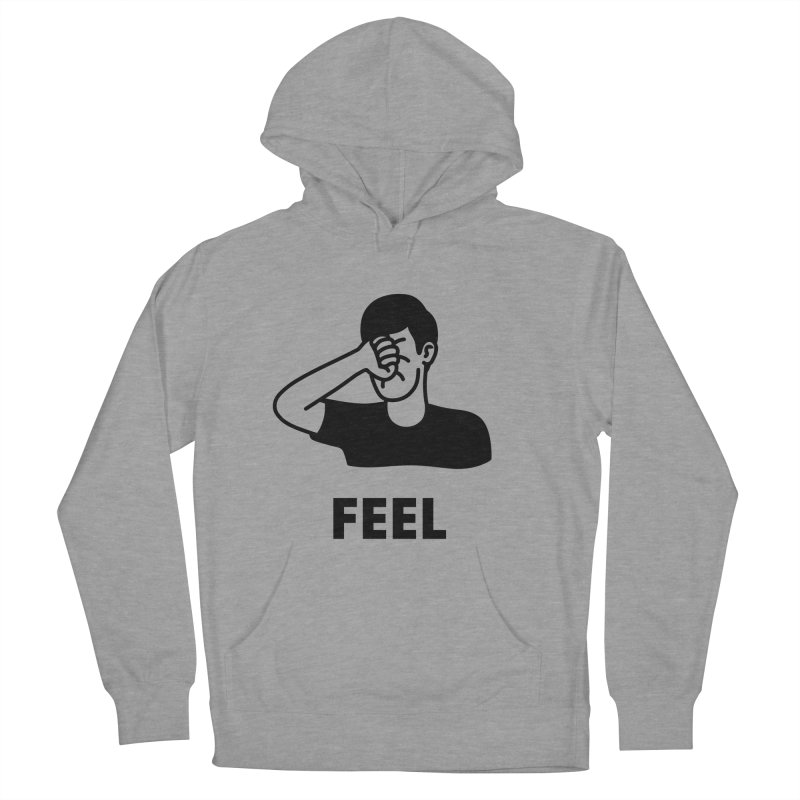 Punch Yourself Women's French Terry Pullover Hoody by jacohaasbroek's Artist Shop