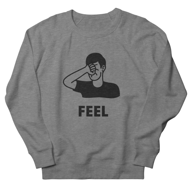 Punch Yourself Men's French Terry Sweatshirt by Haasbroek's Artist Shop