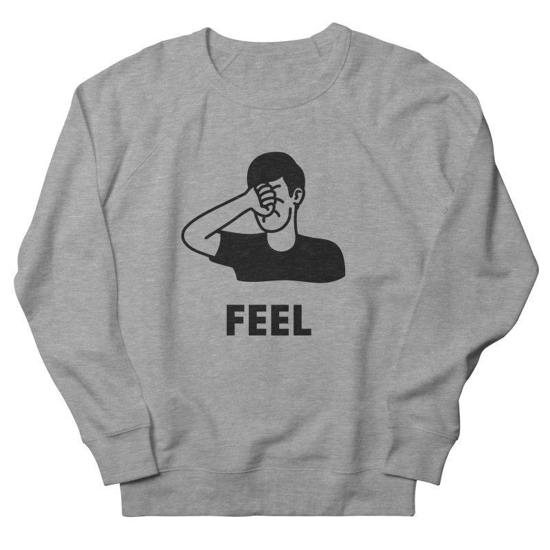 Punch Yourself Men's French Terry Sweatshirt by Haasbroek's Artist Shop