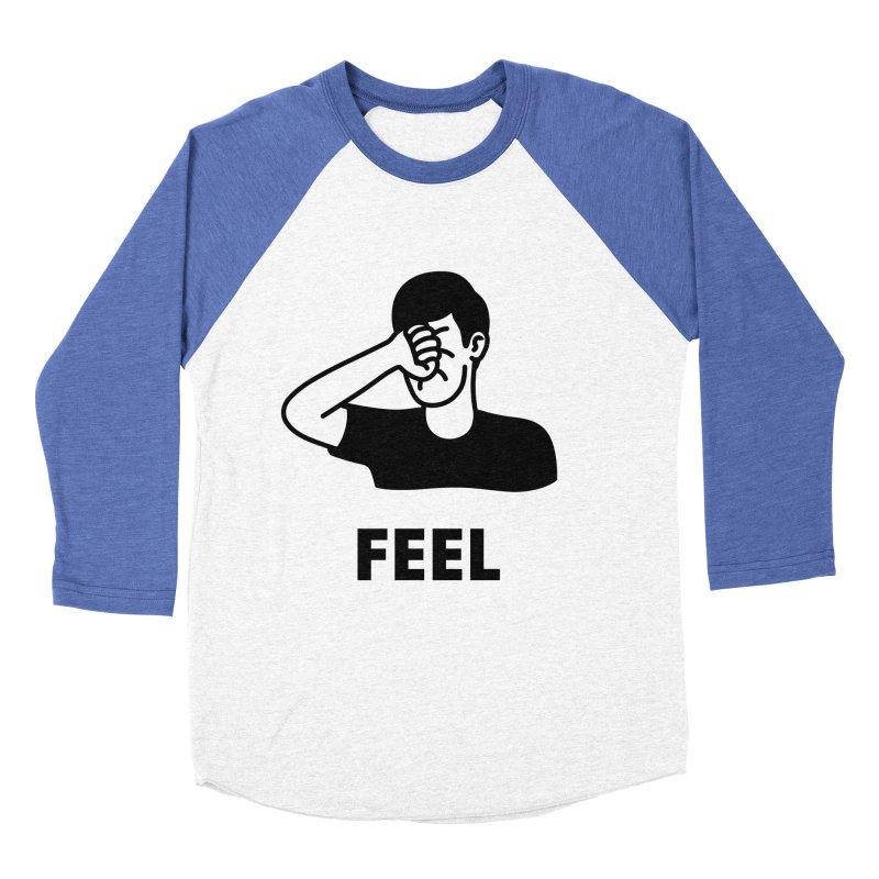 Punch Yourself Women's Baseball Triblend Longsleeve T-Shirt by Haasbroek's Artist Shop