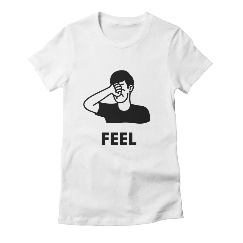 Punch Yourself Women's Fitted T-Shirt by Haasbroek's Artist Shop