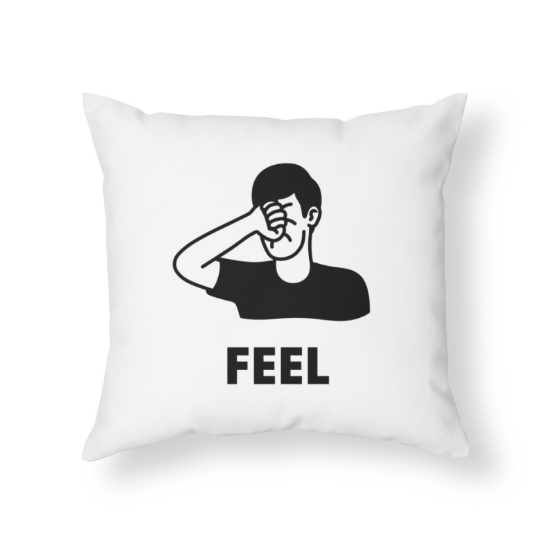 Punch Yourself Home Throw Pillow by Haasbroek's Artist Shop