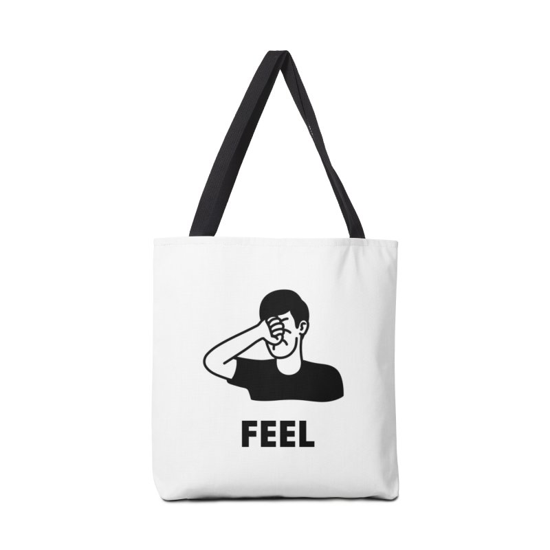 Punch Yourself Accessories Tote Bag Bag by Haasbroek's Artist Shop