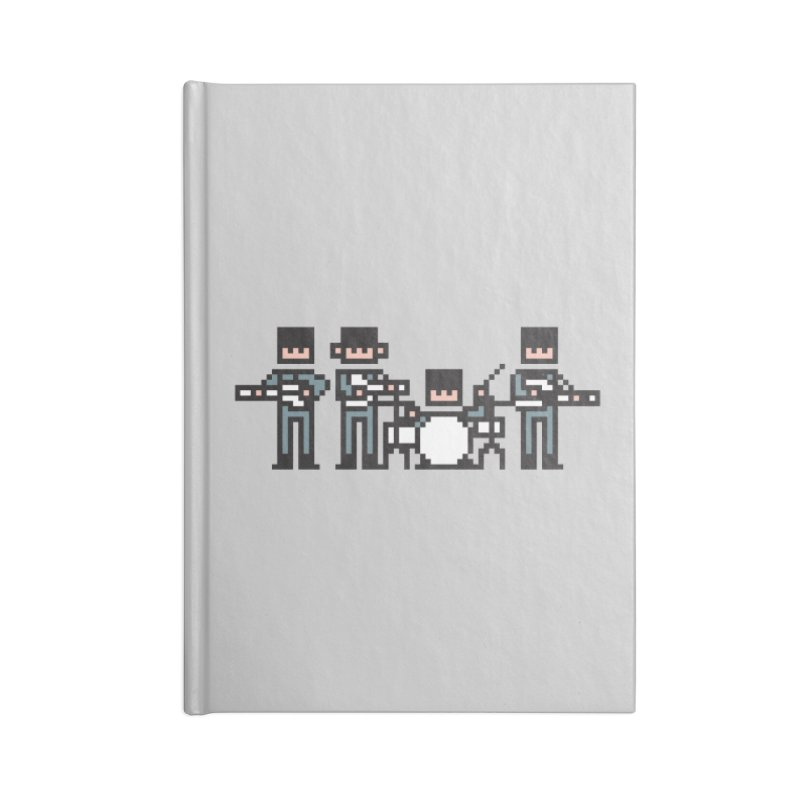 The Bitles Accessories Blank Journal Notebook by Haasbroek's Artist Shop