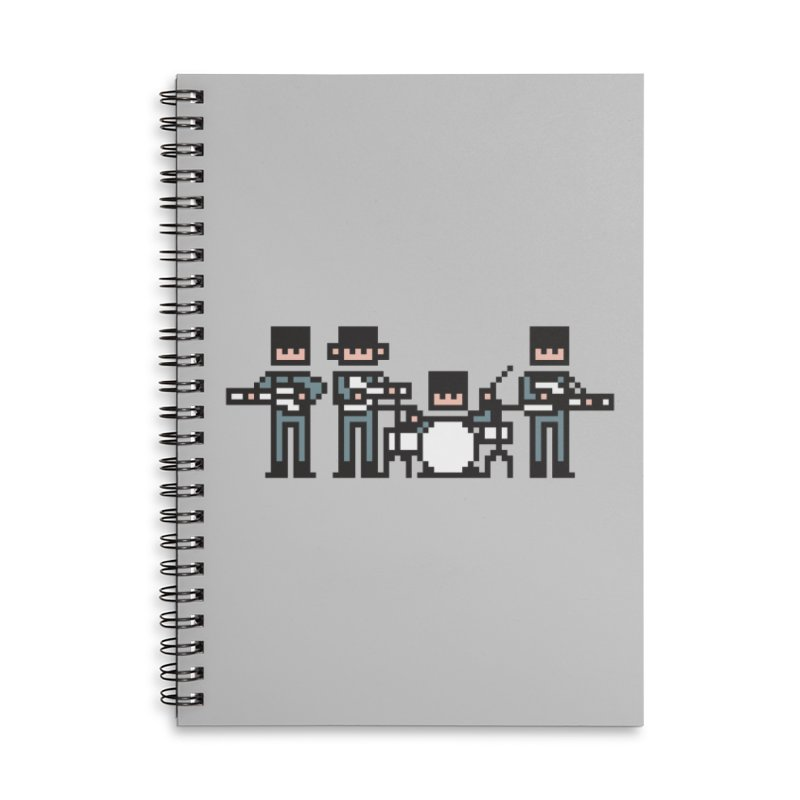 The Bitles Accessories Lined Spiral Notebook by Haasbroek's Artist Shop