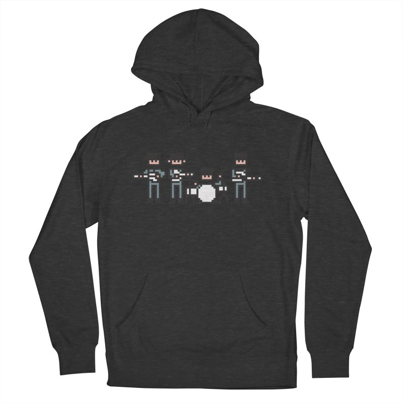 The Bitles Men's French Terry Pullover Hoody by Haasbroek's Artist Shop