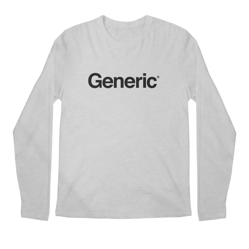 Generic Brand Men's Regular Longsleeve T-Shirt by Haasbroek's Artist Shop
