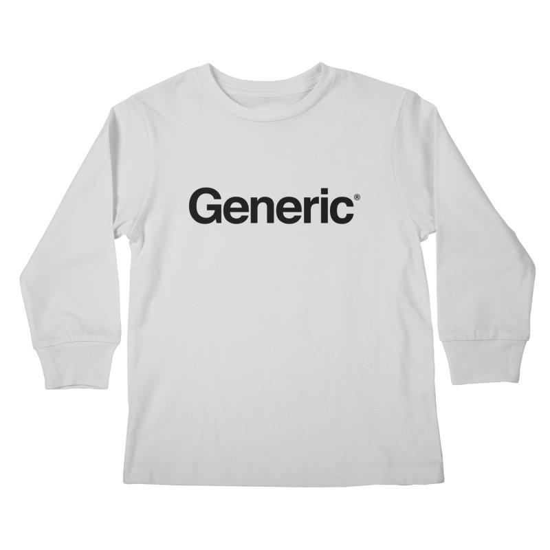 Generic Brand Kids Longsleeve T-Shirt by Haasbroek's Artist Shop