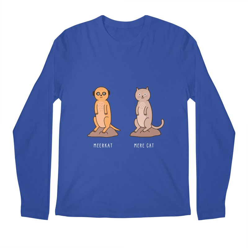 Meerkat Men's Longsleeve T-Shirt by jacohaasbroek's Artist Shop
