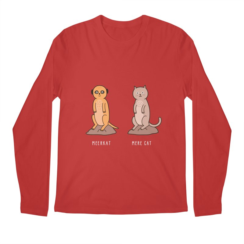 Meerkat Men's Regular Longsleeve T-Shirt by Haasbroek's Artist Shop