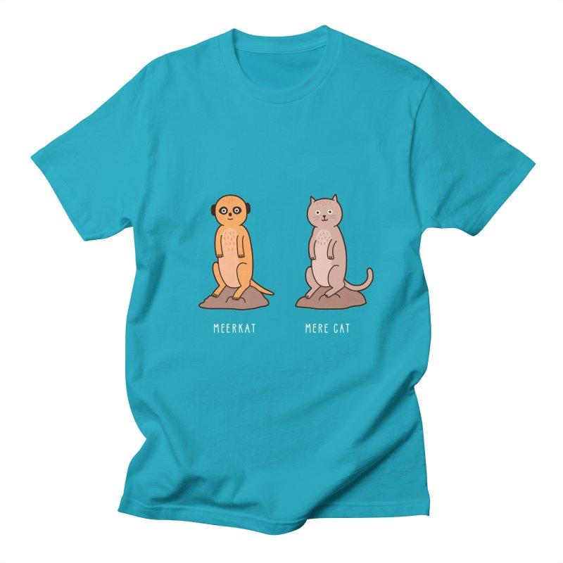 Meerkat Men's Regular T-Shirt by Haasbroek's Artist Shop