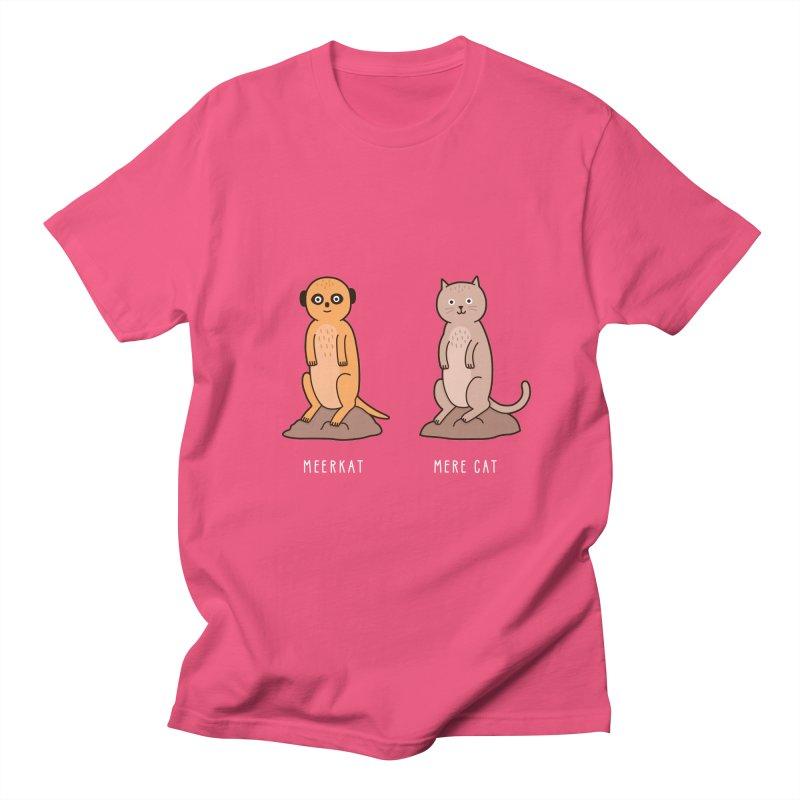 Meerkat Men's Regular T-Shirt by jacohaasbroek's Artist Shop