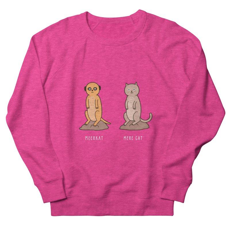 Meerkat Women's French Terry Sweatshirt by Haasbroek's Artist Shop
