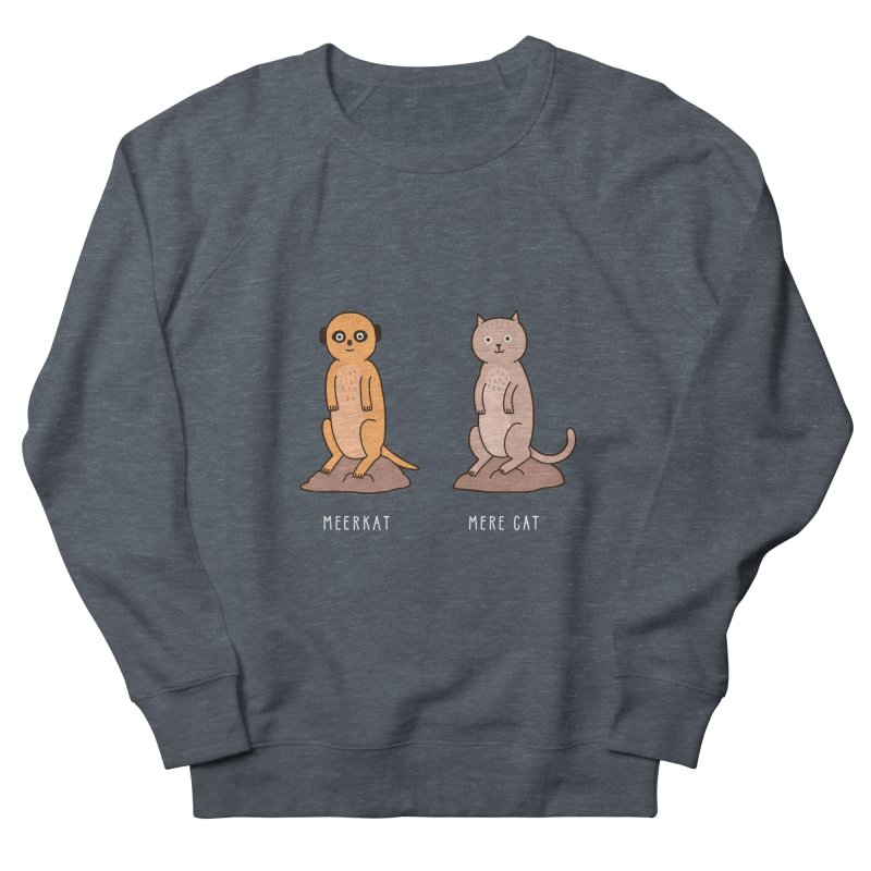 Meerkat Men's French Terry Sweatshirt by jacohaasbroek's Artist Shop