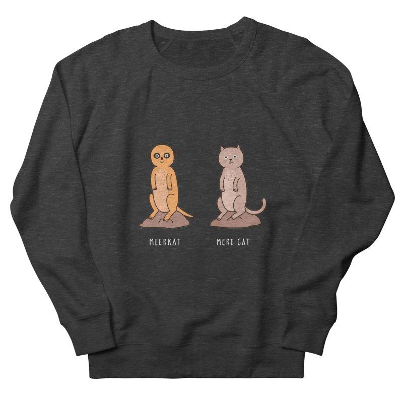 Meerkat Men's French Terry Sweatshirt by Haasbroek's Artist Shop