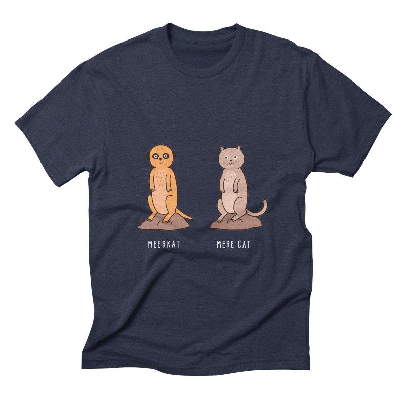 Meerkat Men's Triblend T-Shirt by jacohaasbroek's Artist Shop