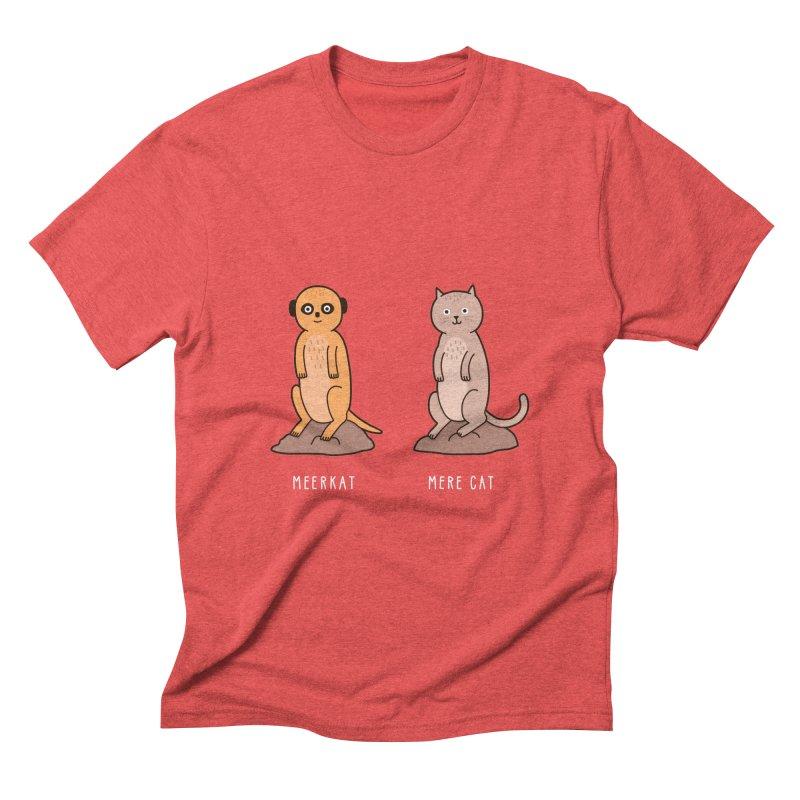 Meerkat Men's Triblend T-Shirt by Haasbroek's Artist Shop
