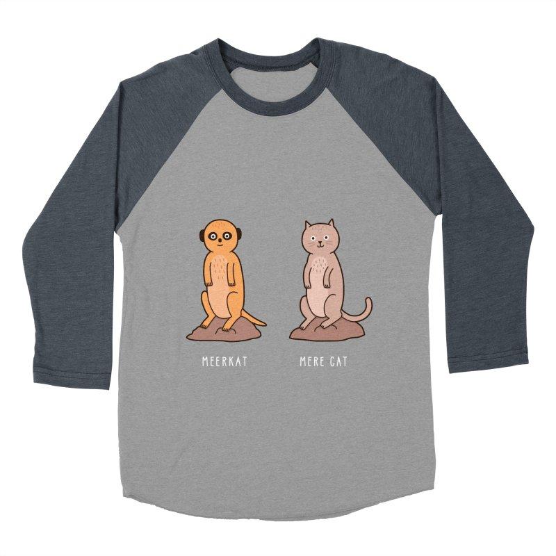 Meerkat Men's Baseball Triblend T-Shirt by jacohaasbroek's Artist Shop