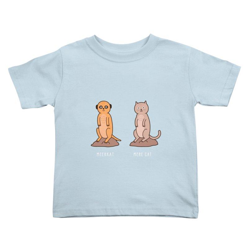 Meerkat Kids Toddler T-Shirt by Haasbroek's Artist Shop