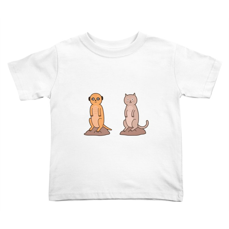 Meerkat Kids Toddler T-Shirt by jacohaasbroek's Artist Shop