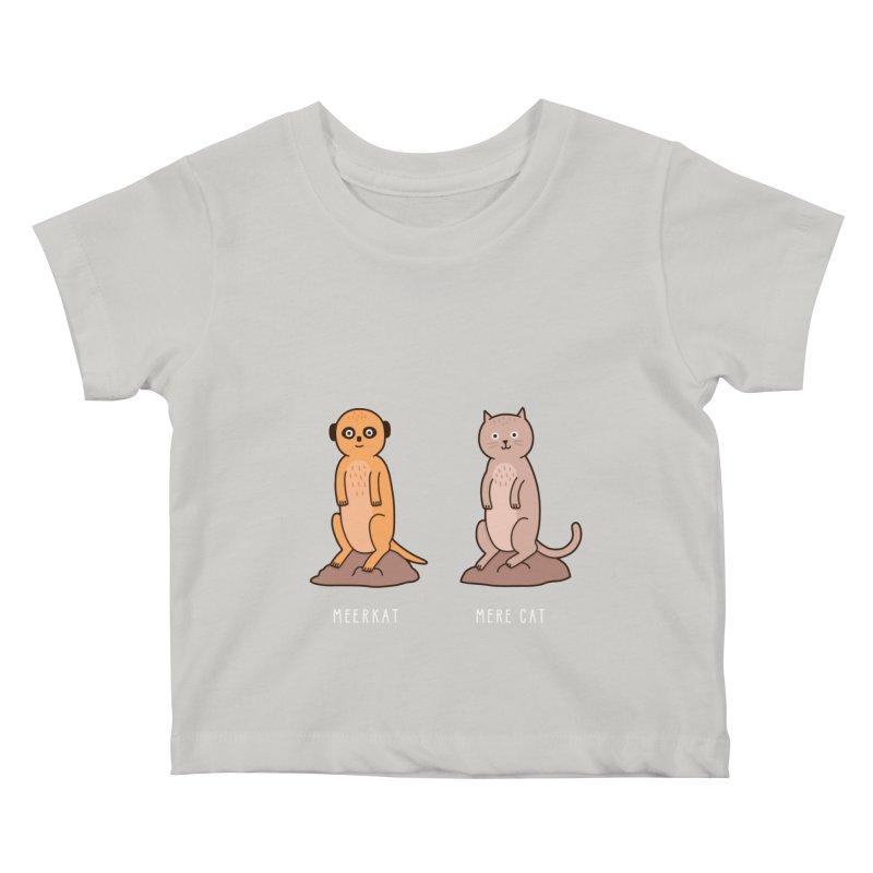 Meerkat Kids Baby T-Shirt by jacohaasbroek's Artist Shop