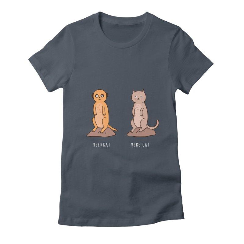 Meerkat Women's T-Shirt by Haasbroek's Artist Shop
