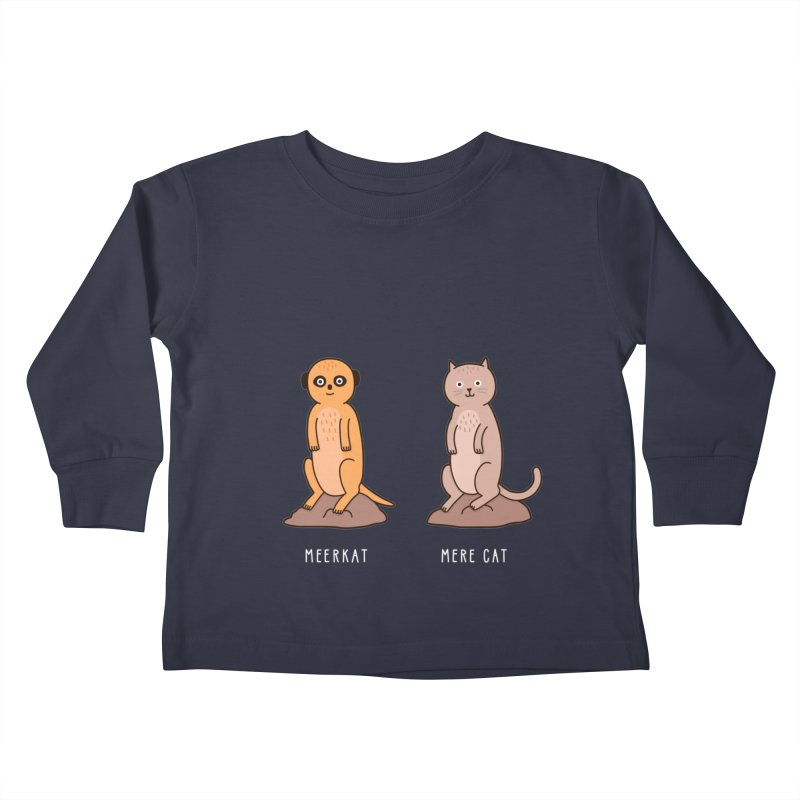 Meerkat Kids Toddler Longsleeve T-Shirt by jacohaasbroek's Artist Shop