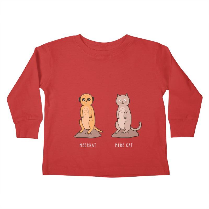 Meerkat Kids Toddler Longsleeve T-Shirt by jacohaasbroek's Artist Shop
