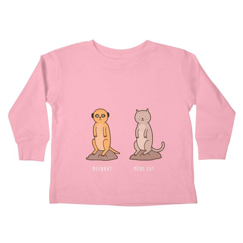 Meerkat Kids Toddler Longsleeve T-Shirt by Haasbroek's Artist Shop