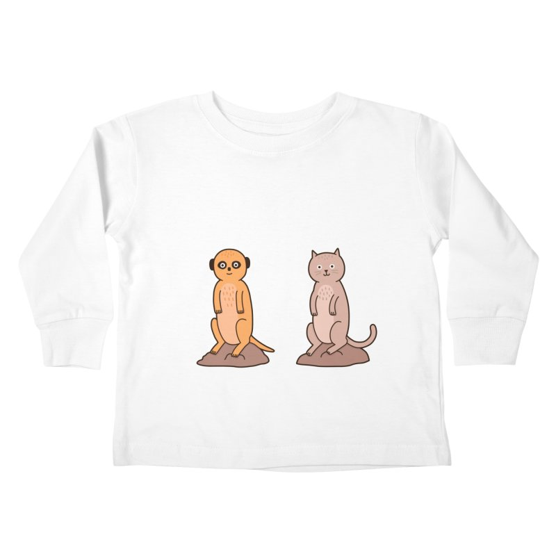 Meerkat Kids Toddler Longsleeve T-Shirt by Haasbroek's Artist Shop