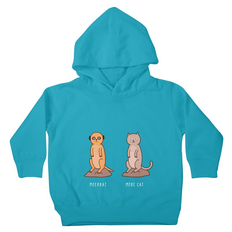 Meerkat Kids Toddler Pullover Hoody by Haasbroek's Artist Shop